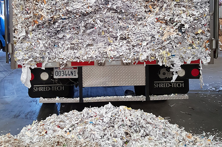 mobile paper shredding service Quincy
